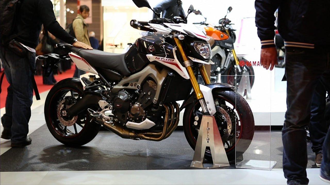 Yamaha mt 09 street rally salon de la moto scooter et - Salon de la moto 2013 ...