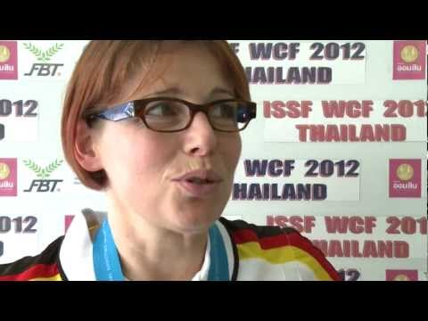 10m Air Rifle Women Interview – ISSF Rifle&Pistol World Cup Final 2012, Bangkok (THA)
