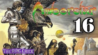 Let's Play Amberstar (Amiga, English - Blind), Part 16: Battle With the Rat King!