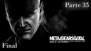 Metal Gear Solid 4 Guns of the Patriots Walkthrough - Parte 35 FINAL - Español (PS3 Gameplay HD)