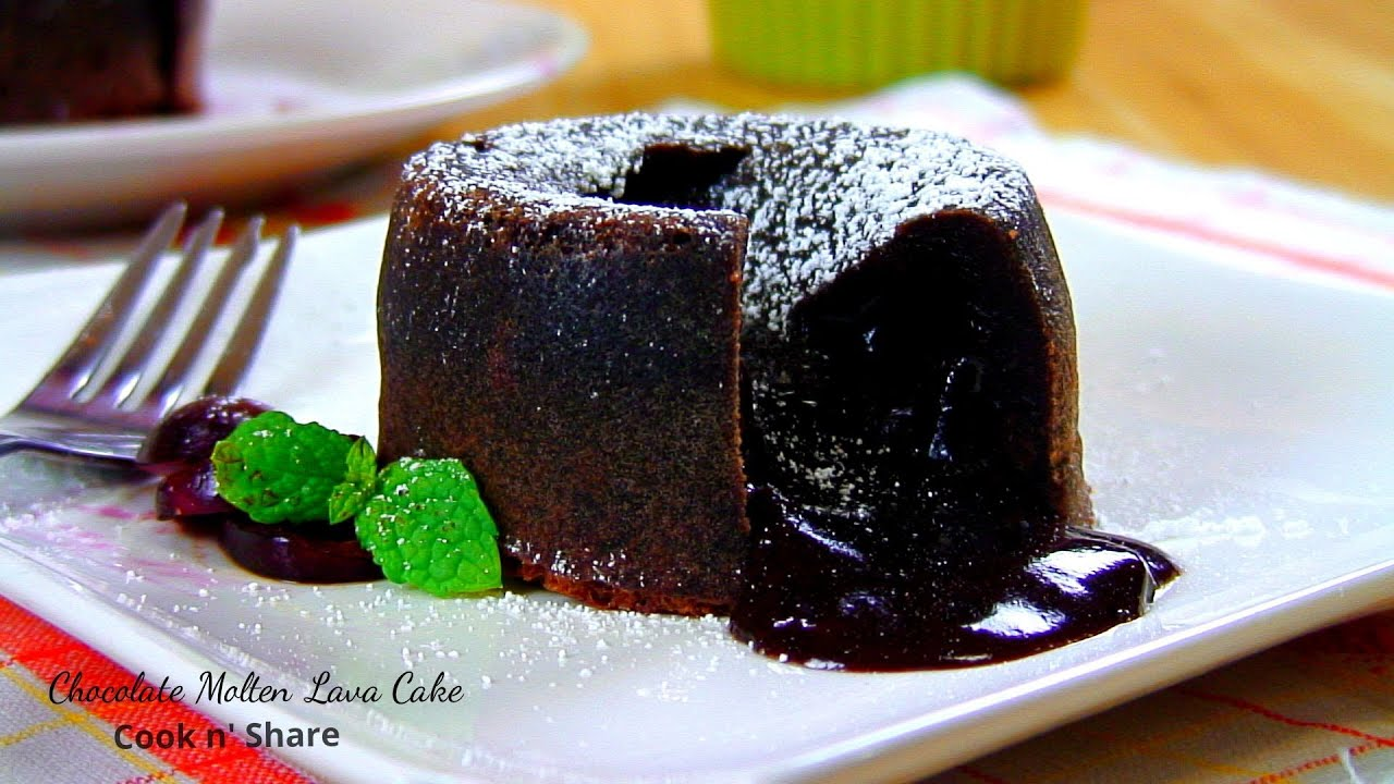 Chocolate Molten Lava Cake - YouTube