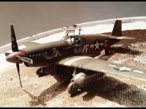 Academy 1/72 P-51B Mustang