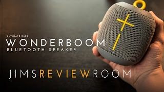 UE Wonderboom Bluetooth Speaker - REVIEW