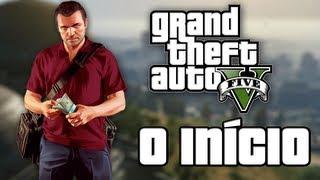 GTA V #1 - O INÍCIO ÉPICO!!! (GTA 5 em Português PT-BR)