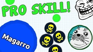AGARIO PRO SKILL MOMENTS - EPIC AGAR.IO