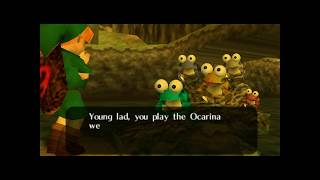 The Legend of Zelda Ocarina of Time Gameplay CAGE parte 22