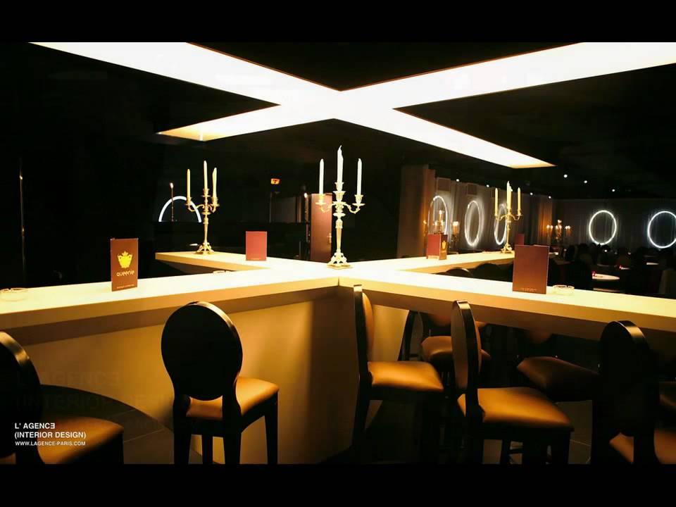 LE QUEENIE restaurant club by L'AGENCE INTERIOR DESIGN www.lagence ...