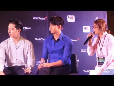 """[TAEC FOCUS] 160319 PRESS CONFERENCE """"2PM CONCERT HOUSE PARTY IN BANGKOK"""", DUSIT THANI HOTEL"""