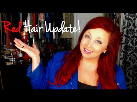 Dying My Hair Red Update Video | Maintenance, Upkeep and Staying Red!