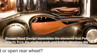Mullin Museum's Bugatti Type 64 Design class at Art Center subsequent private design commission