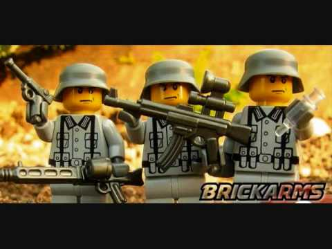 New from BrickArms minifigs for WWII Music Videos