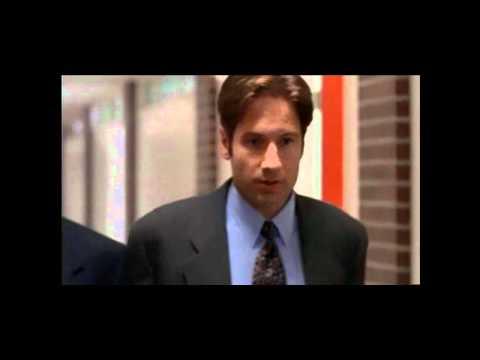 """La vera teoria del complotto, spiegata a Fox Mulder da Kritschgau in Redux, episodio 1 della serie 5. Il vero complotto non è per nascondere l'esistenza degli alieni, ma... """"Non c'è affare..."""