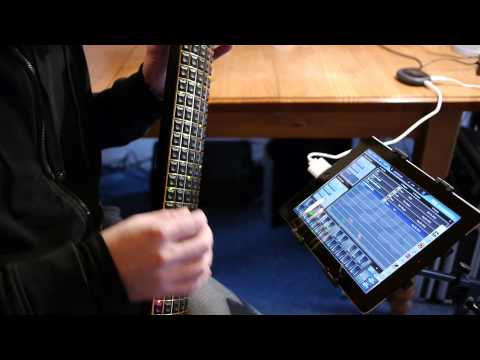 Audiobus demo with Eigenharp Alpha