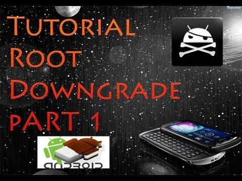 [Tutorial] ICS Xperia Pro con Root + Downgrade + CWM [Parte 1]