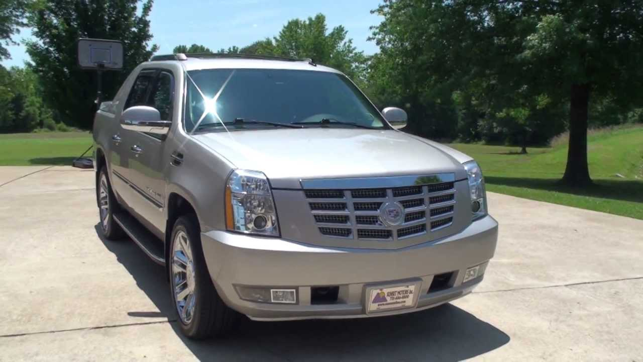 HD VIDEO 2009 CADILLAC ESCALADE EXT TRUCK FOR SALE SEE WWW SUNSETMILAN COM - YouTube