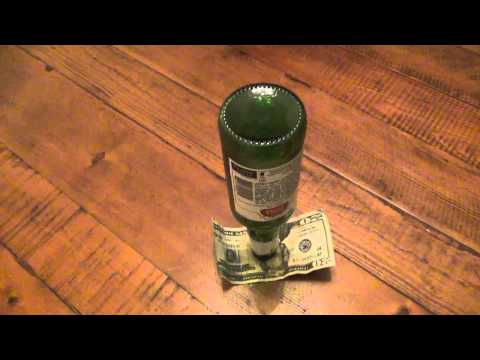 Bar trick : Beer Bottle Bill Balance Bet...
