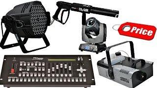 Dj Light Sharpy laser light dj Led Smoke Machine & Co2 Gun Pilot 2000 Dmx Price In Hindi
