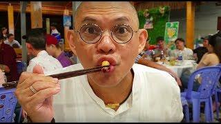 Food For Good Eps38: Đuông dừa ăn sống : chắc hiếm có em gái xinh nào bản lĩnh như em này