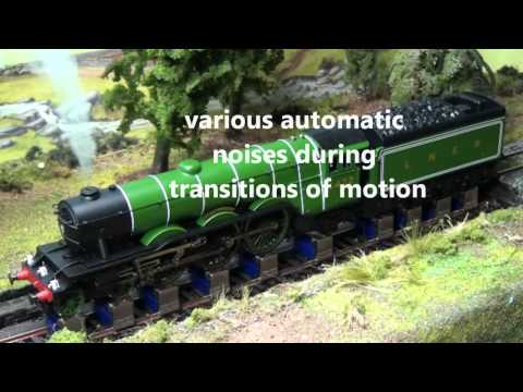 YouChoos Hornby Flying Scotsman DCC Sound. Smoke. Lights