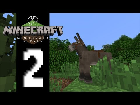 Beef Plays Minecraft Mindcrack Server S3 EP02 Horsing Around