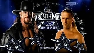 Shawn Michaels Michaels vs The Undertaker Wrestlemania 25 Highlights/Resumen