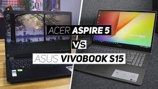 Acer Aspire 5 VS ASUS Vivobook S15 2019!