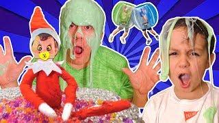 Download Lagu Zombie Elf and Rare Yellow Elf on the Shelf Make a Mess with Orbeez + Bubble Ball with DavidsTV Kids Gratis STAFABAND