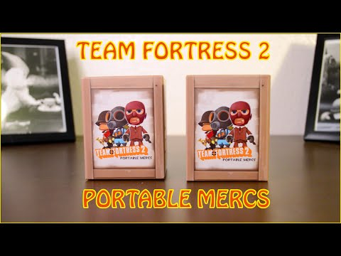 TEAM FORTRESS 2 - Portable Mercs Blind Box Vinyl Figures!!