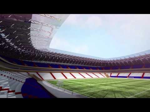 Стадион в г.Саранск к Чемпионату мира по футболу 2018