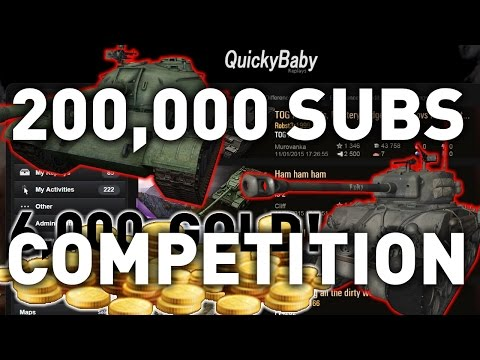 200,000 SUBSCRIBERS COMPETITION - Type 59 and more!