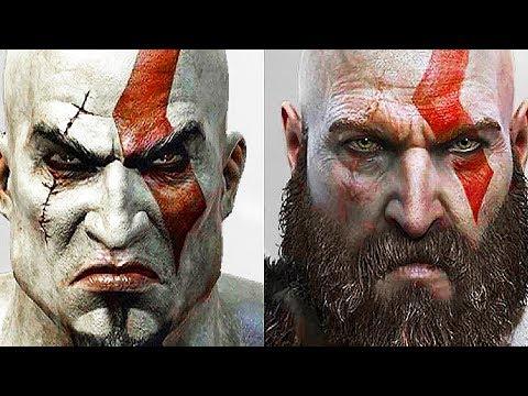 GOD OF WAR Evolution of Kratos (God of War 2005 to 2018) PS4 thumbnail