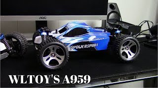 Lets Review a WLTOY'S A959 RC Buggy!!