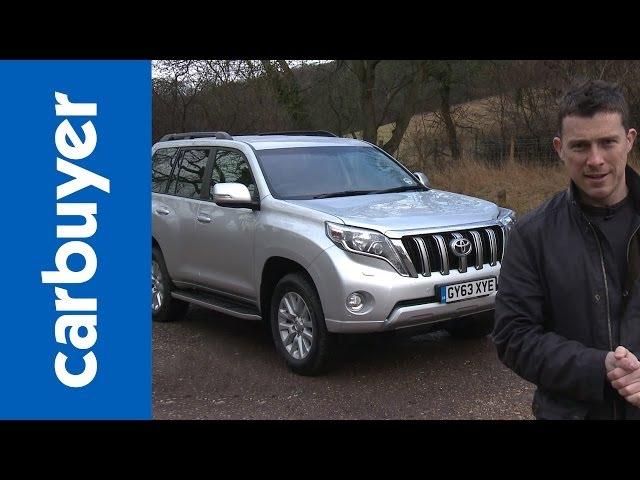 Toyota Land Cruiser (Prado) 2014 review - Carbuyer - YouTube