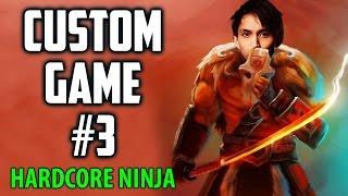 CUSTOM GAME #3 Hardcore Ninja ◄ SingSing Moments Dota 2 Stream