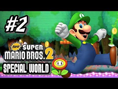 New Super Mario Bros 2 Special Worlds - Part 2 World Fire Flower