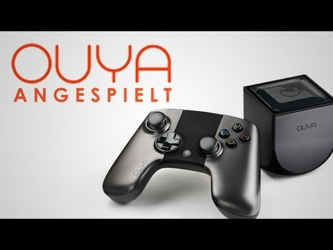 Die neue Konsole OUYA! - Angespielt / Gameplay - Deutsch / German - GIGA.DE