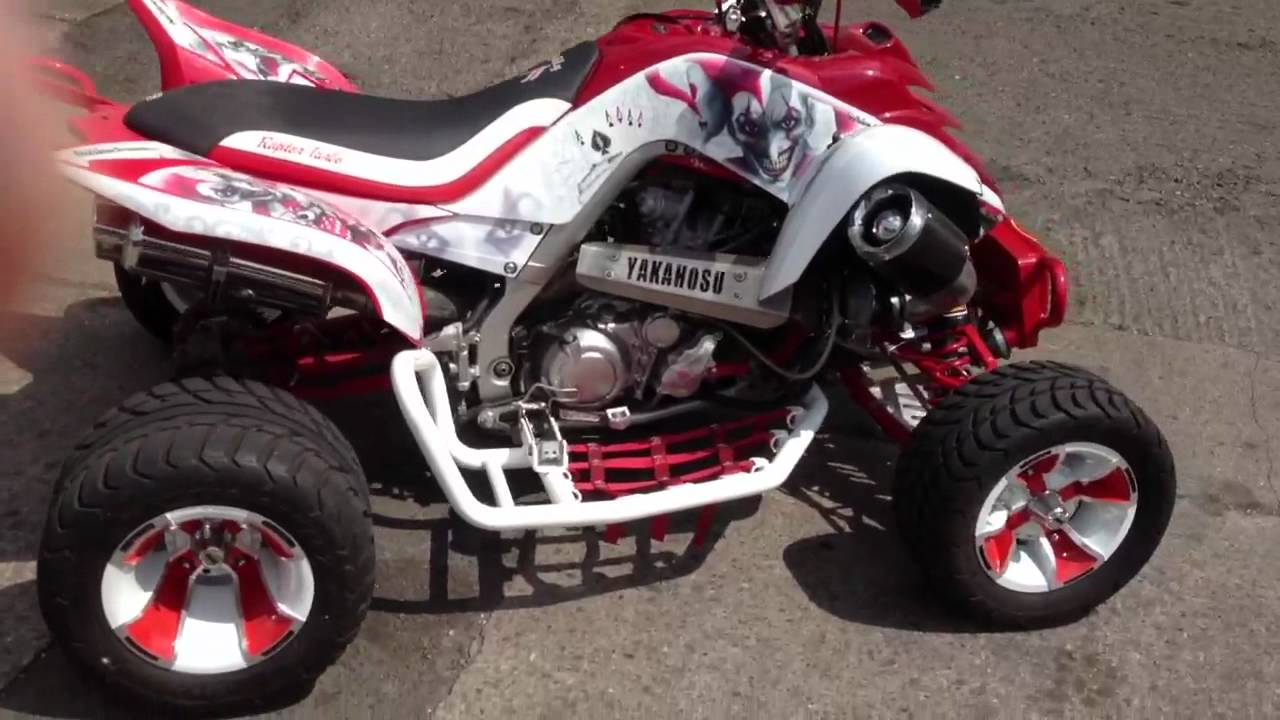Yamaha Raptor  Turbo Kit