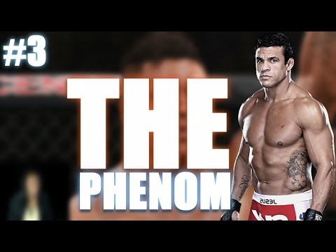 EA Sports UFC 2 Fighter Update #3 - The Phenom Is Back Baby!!!