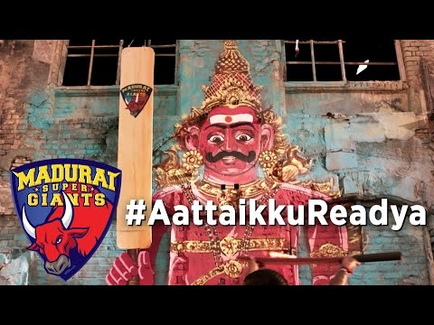 Aattaikku Readya (Official Music Video) - STR | S S Thaman | Arunraja Kamaraj | Madurai Super Giants