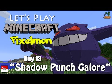 Let's Play Pixelmon Day 13: Shadow Punch!