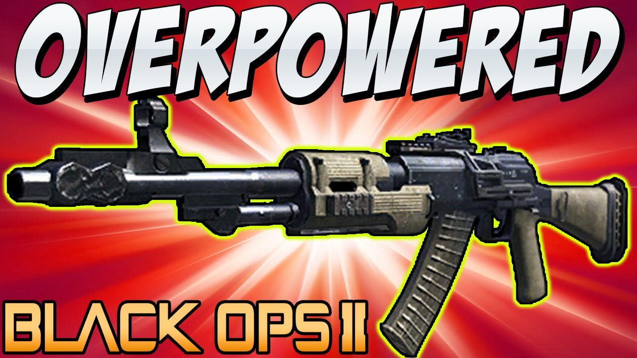 Bo2 the most quot overpowered quot aka quot best gun quot in black ops 2 youtube