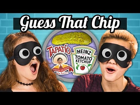 GUESS THAT CHIP CHALLENGE!   Teens Vs. Food