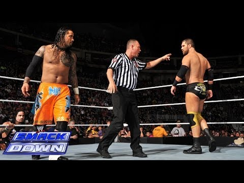 Jey Uso Vs. Curtis Axel: Smackdown, April 25, 2014 video