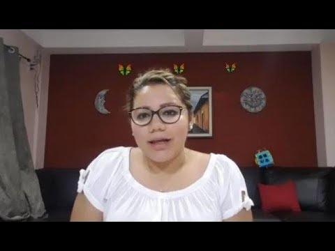 NOVIA DE EUGENIO CHICAS RESPONDE A NAYIB LEYENDO UN PAPEL