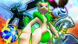 """WINNER GETS 4 LEGENDARIES!?"" - Minecraft Pixelmon LUCKY BLOCK Adventure (Minecraft Pokemon Mod)"