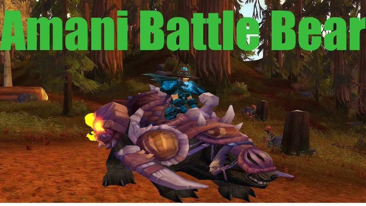 War Bear Mount Battle Bear Mount Run