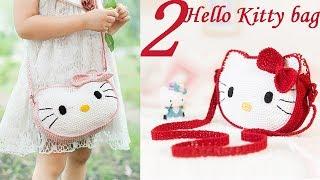 How to Crochet Bag: Kitty bag 2/4