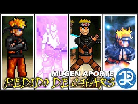 (MugenCharacter): Pedido Sasuke.Naruto.MechaNaruto.NarutoFlosser3 + Link