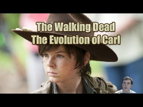 The Walking Dead Season 4 - Carl's Evolution