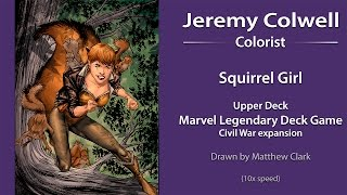 Squirrel Girl UDML Coloring (10x Speed Version)